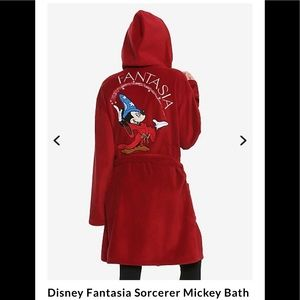 Disney Fantasia Mickey Mouse Sorcerer Bathrobe!